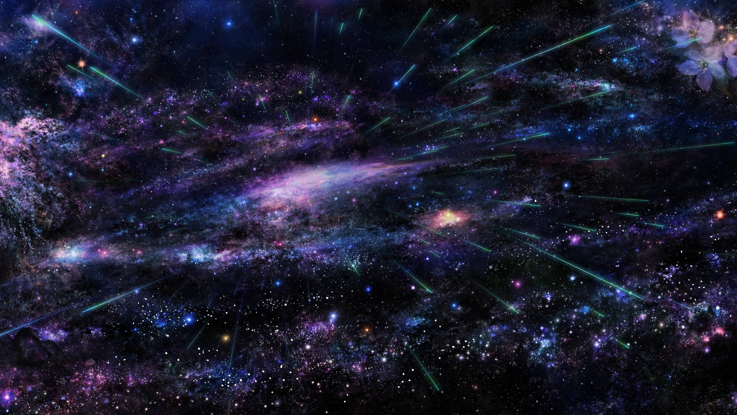 space art, abstract, stars wallpapers hd / desktop and mobile