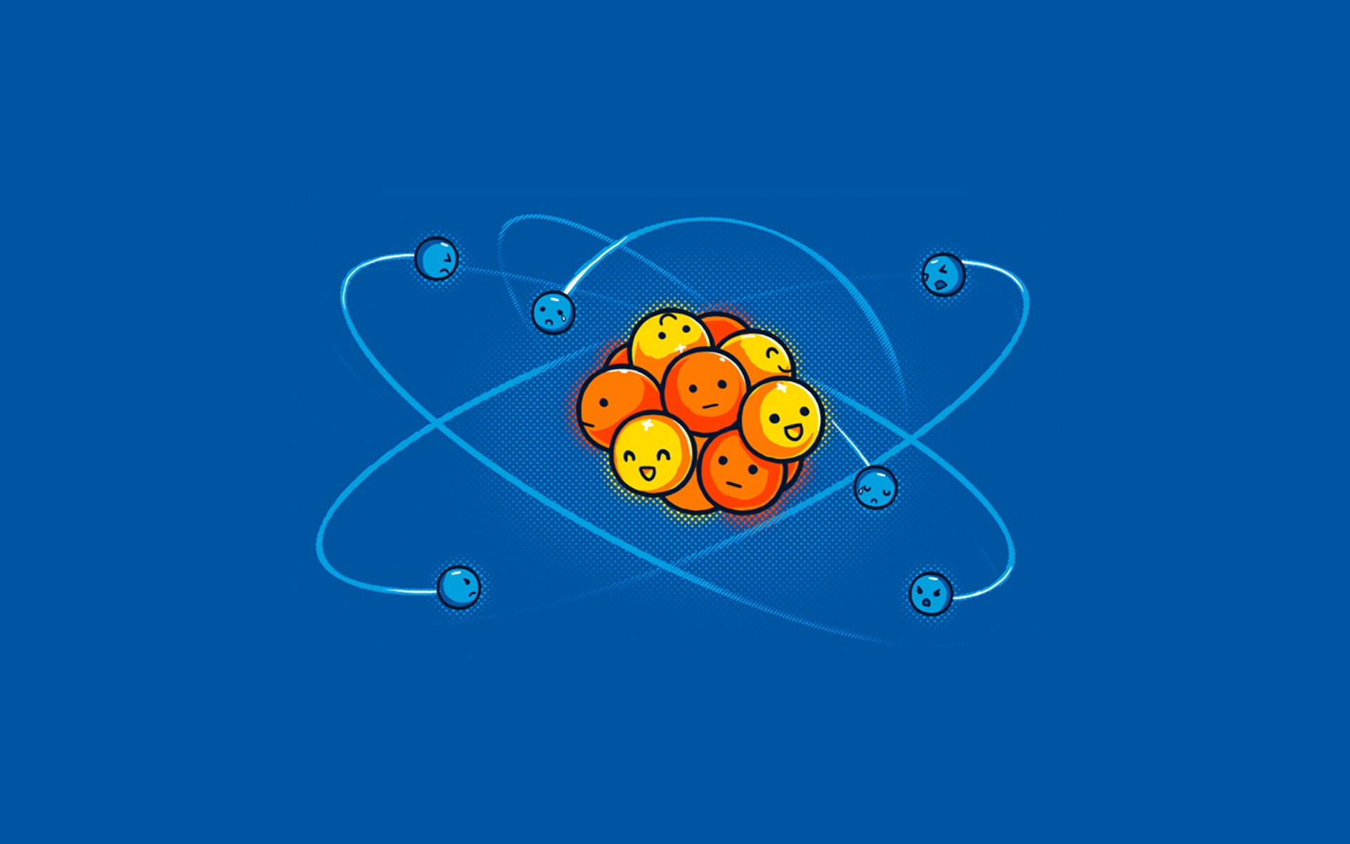 Atoms Humor Protons Neutrons Electrons Simple