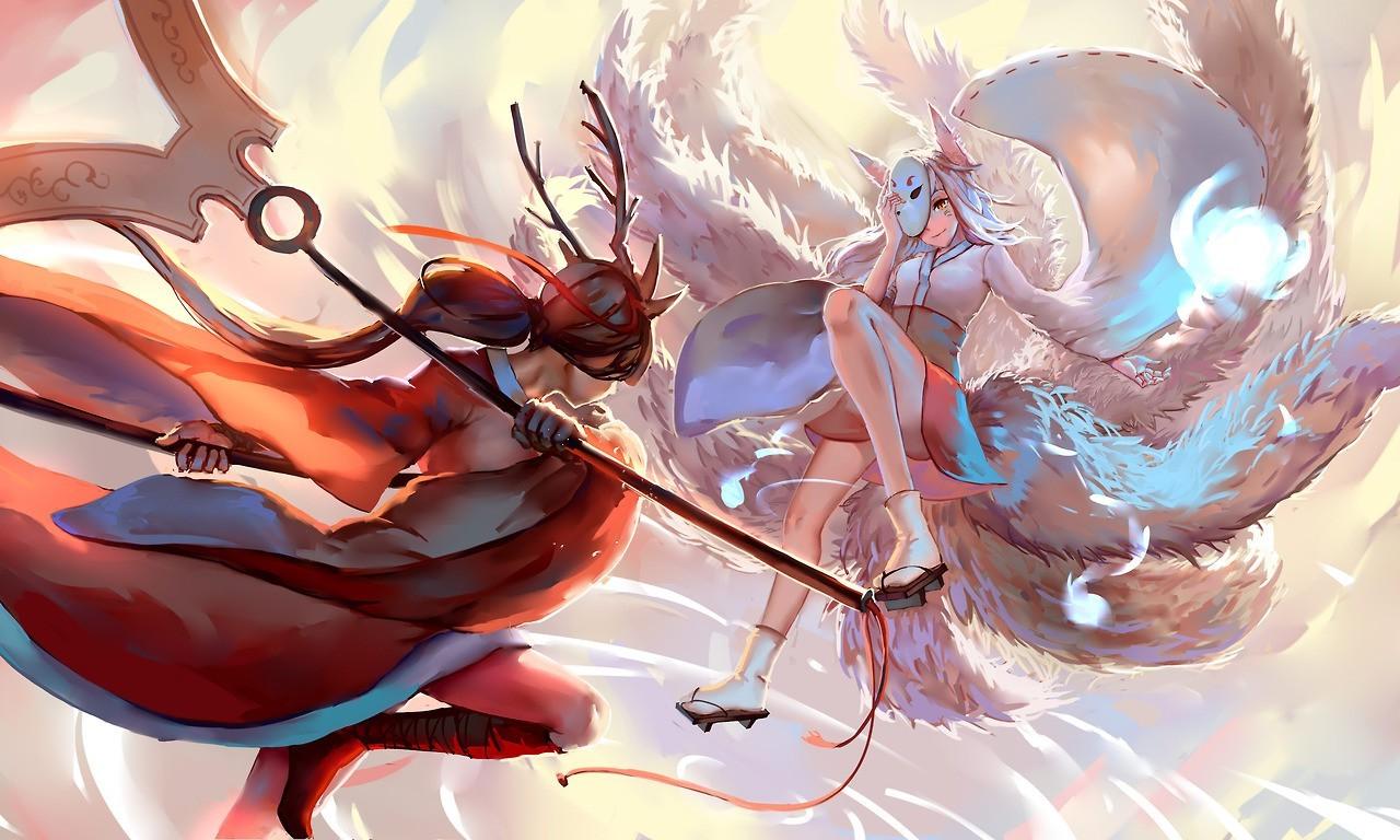 Best Girl X Boy Love Anime Wallpaper League Of Legends Akali Fighting Wallpapers Hd Desktop