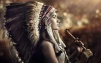 Native Americans, Headdress, Women, Profile Wallpapers HD ...
