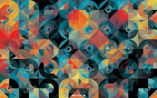Graphic Design Andy Gilmore Pattern Abstract Circle