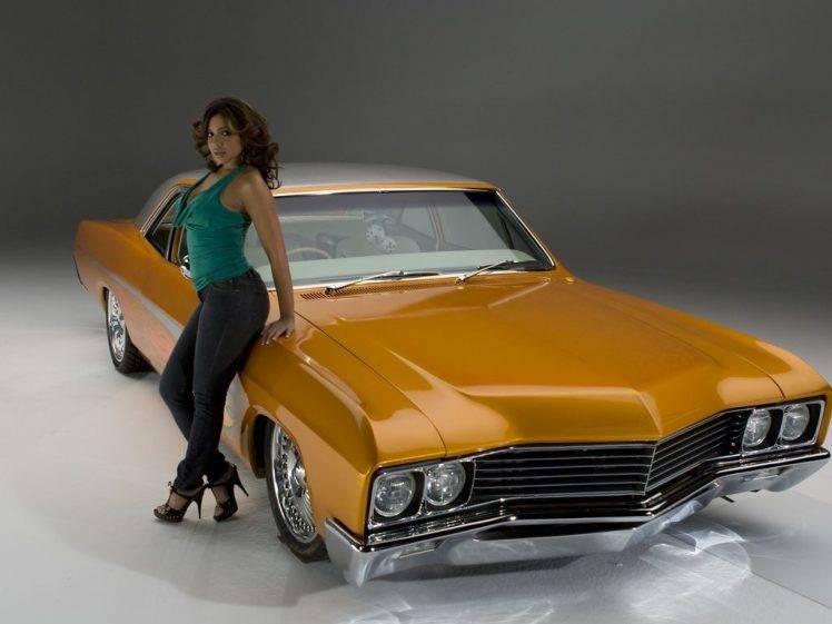 3840x1080 Wallpaper Classic Car Vida Guerra Classic Car Low Ride Car Women With Cars