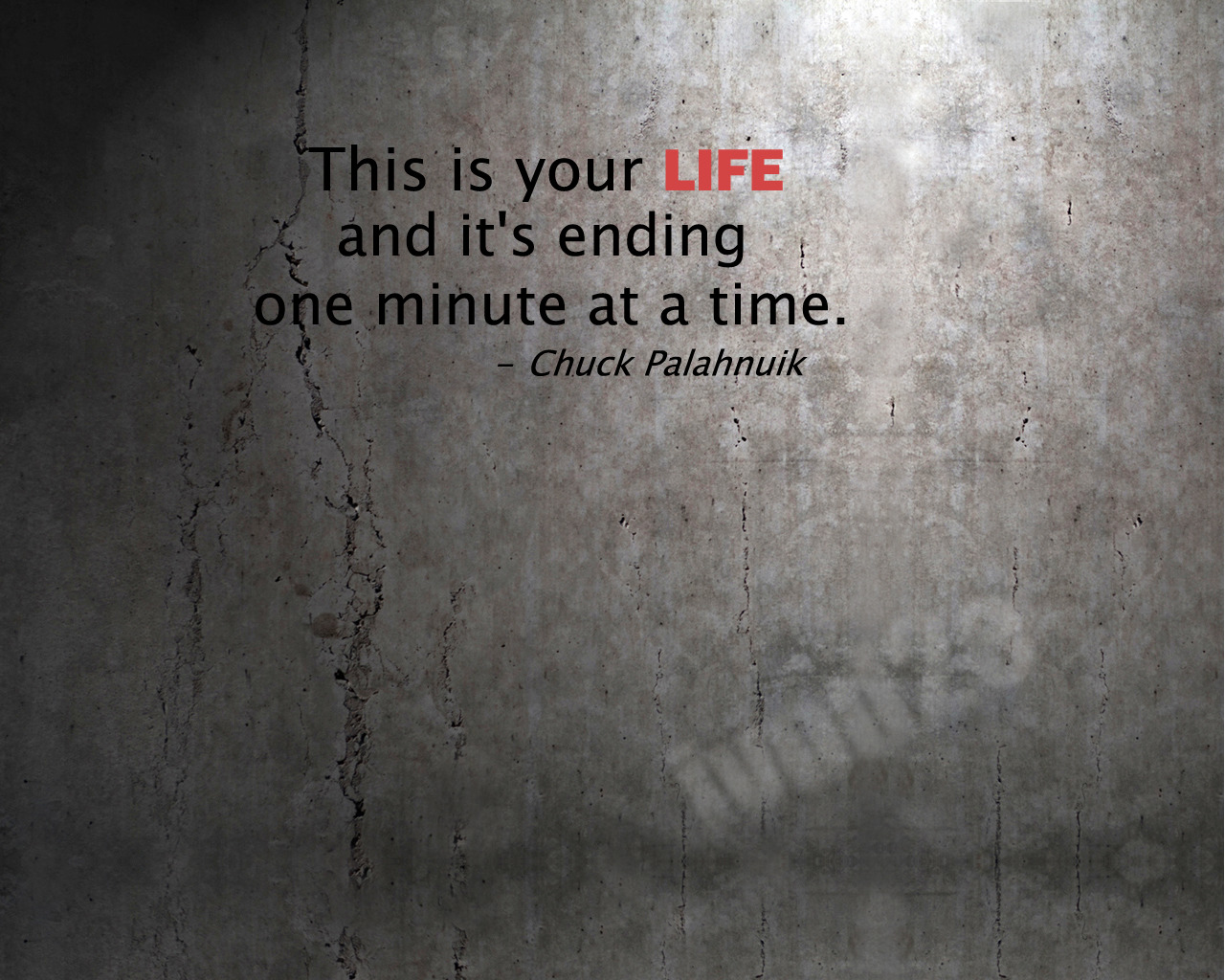 Cosmos Quotes Wallpaper Fight Club Quote Grunge Wallpapers Hd Desktop And