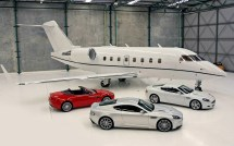 Private Jet with Car Garage