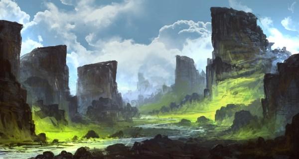 Artwork Digital Art Nature Landscape Mountain Mesa