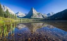 Nature Landscape Mountain Glacier National Park