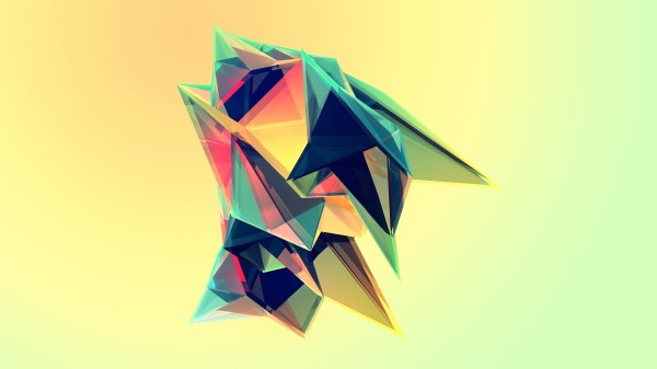 Digital Abstract Art Shapes