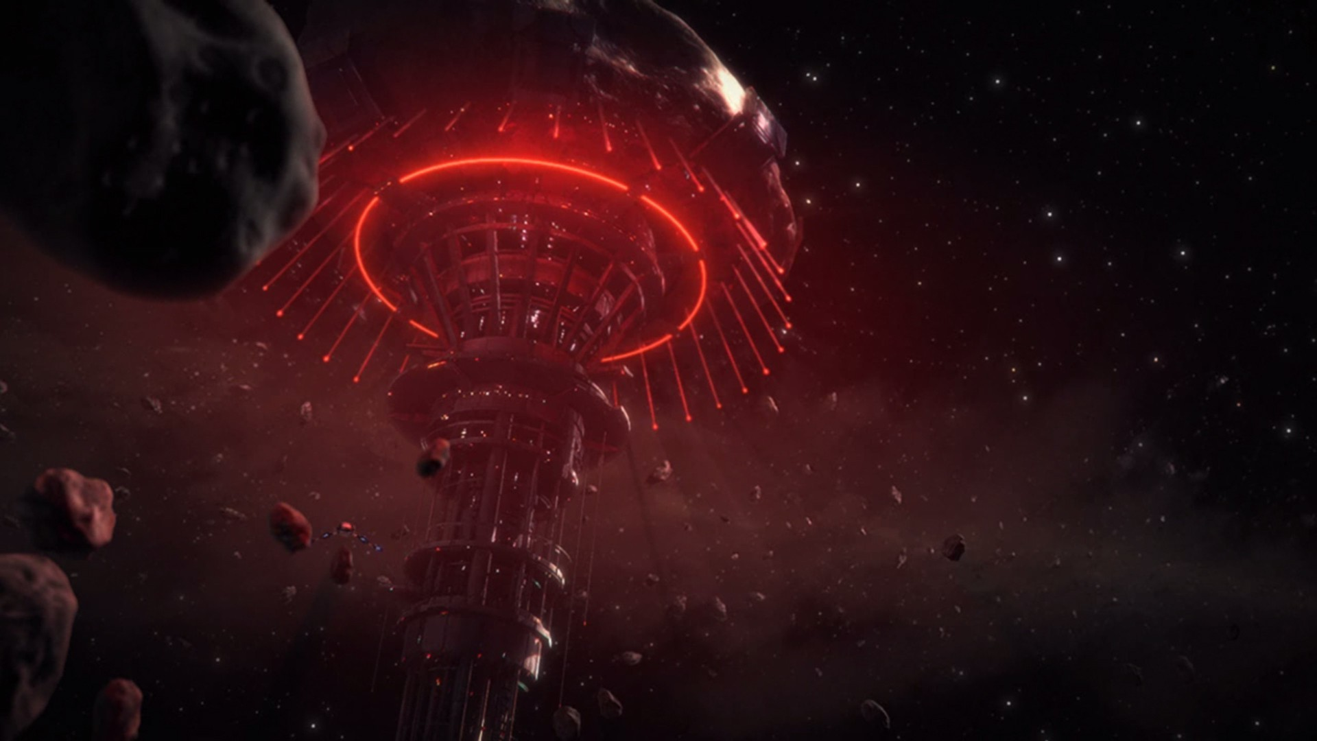 3d Asteroid Wallpaper Science Fiction Omega Mass Effect Wallpapers Hd