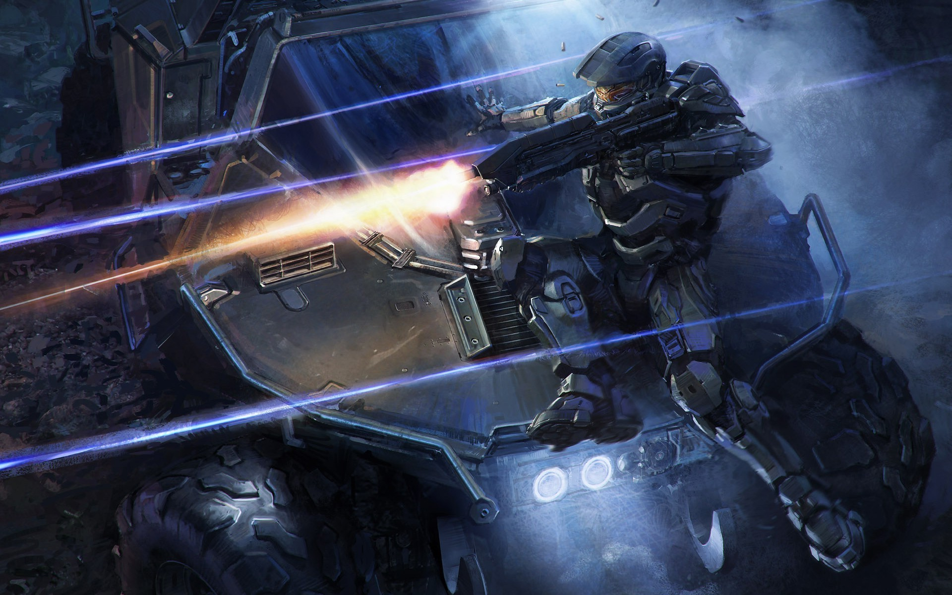 Halo Reach 3d Wallpaper Pc Halo Fantasy Art Video Games Master Chief Wallpapers Hd