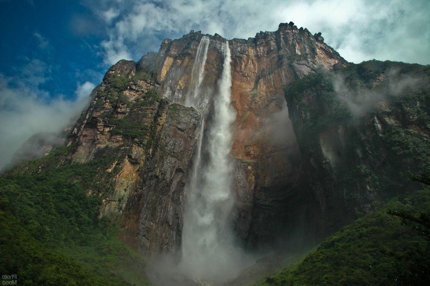 Angel Falls Wallpaper Landscape Santo Angel Venezuela Salto 193 Ngel Wallpapers