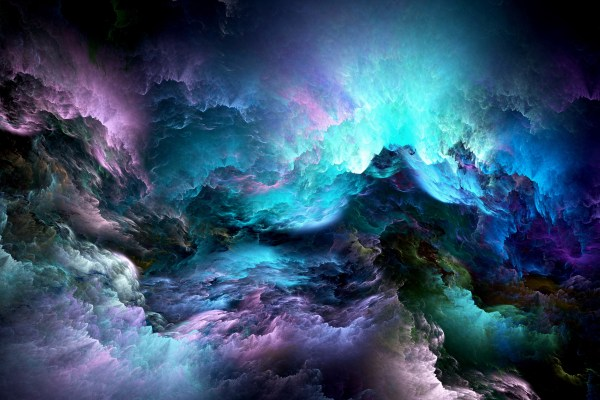 3D HD Abstract Colorful Clouds