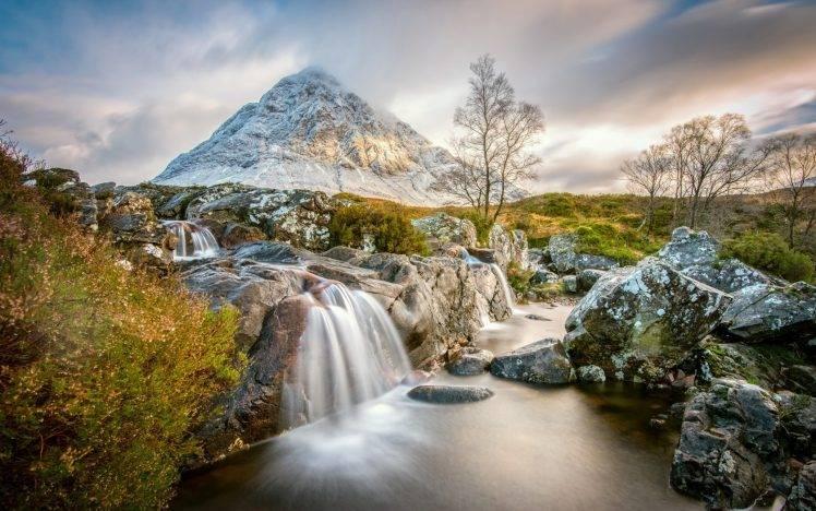 Snoqualmie Falls Wallpaper Nature Landscape Mountain Water Lake Trees Scotland