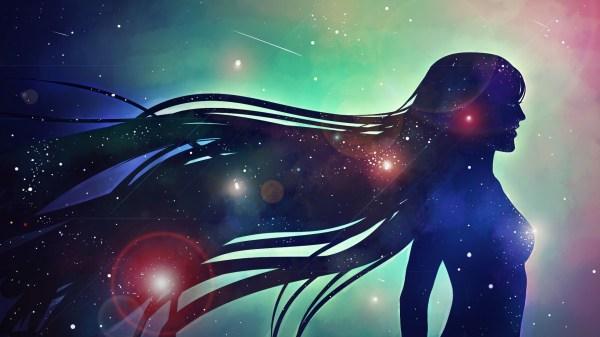 Artwork Women Galaxy Stars Digital Art Wallpapers Hd Desktop And Mobile Backgrounds