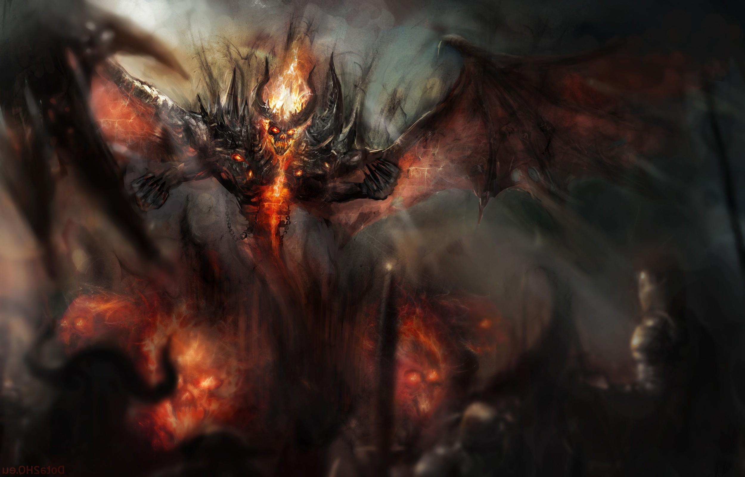 Dota Demon Nevermore Shadow Fiend Dota 2 Wallpapers HD