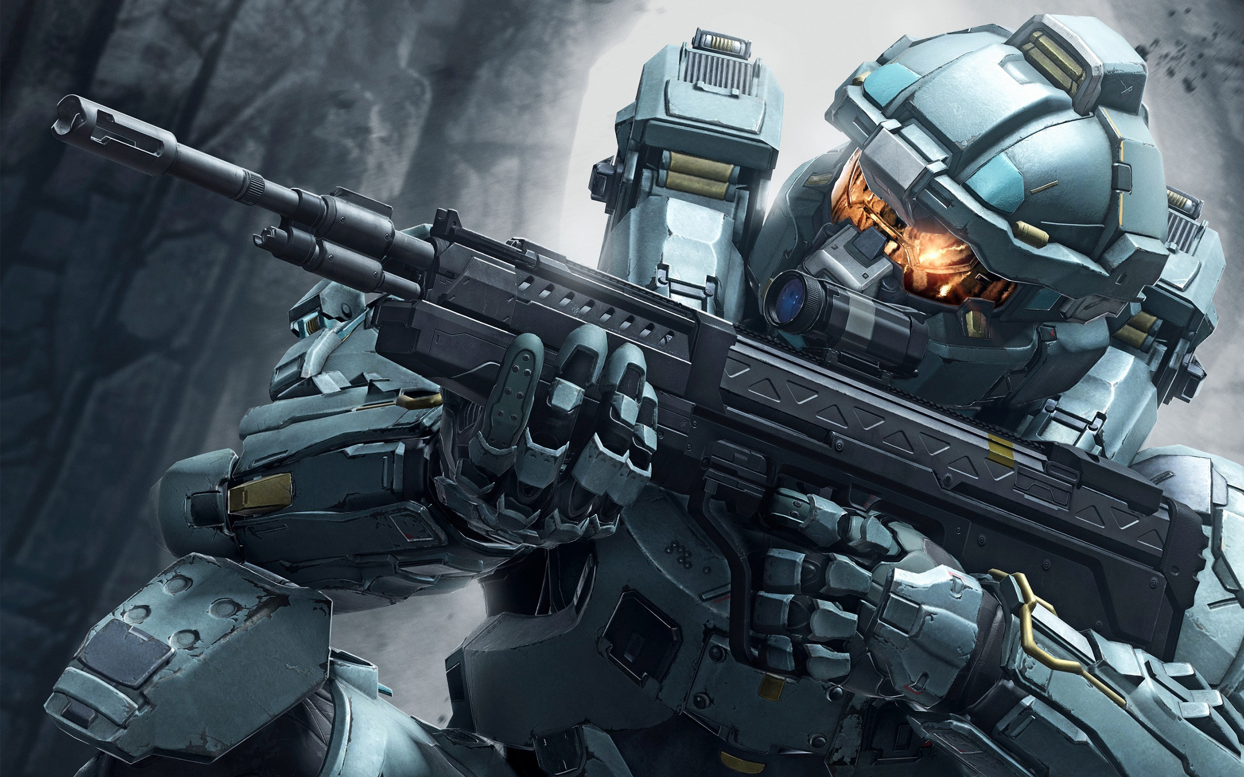 Halo Wallpaper Fall Of Reach Halo 5 Video Games Soldier Military Weapon Fred 104