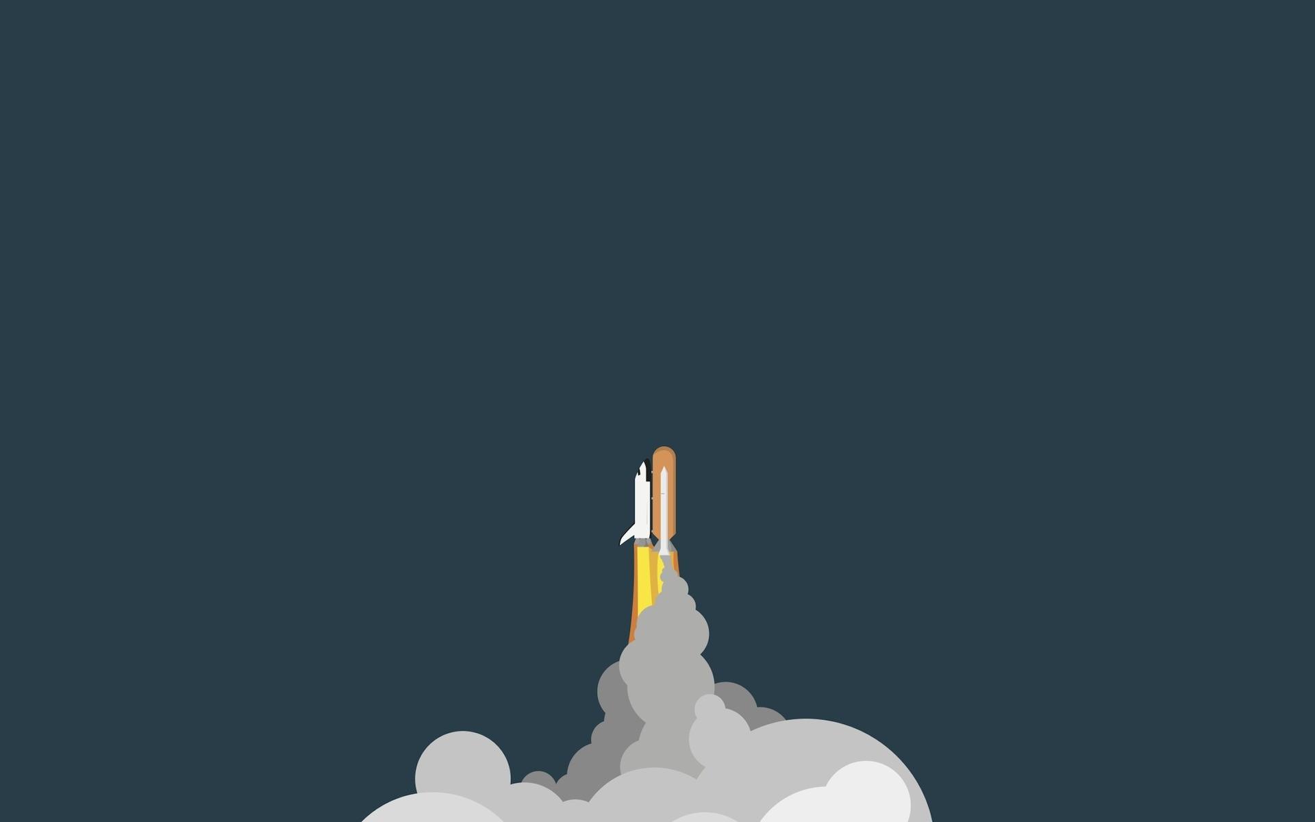 Cute Productivity Wallpaper Desktop Spaceship Simple Space Shuttle Wallpapers Hd Desktop