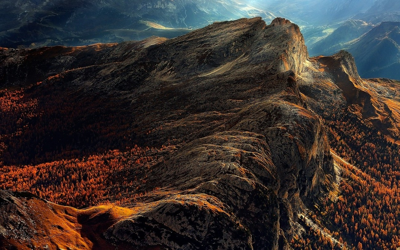 Fall Wallpaper 16 9 Nature Landscape Dolomites Mountains Italy Forest