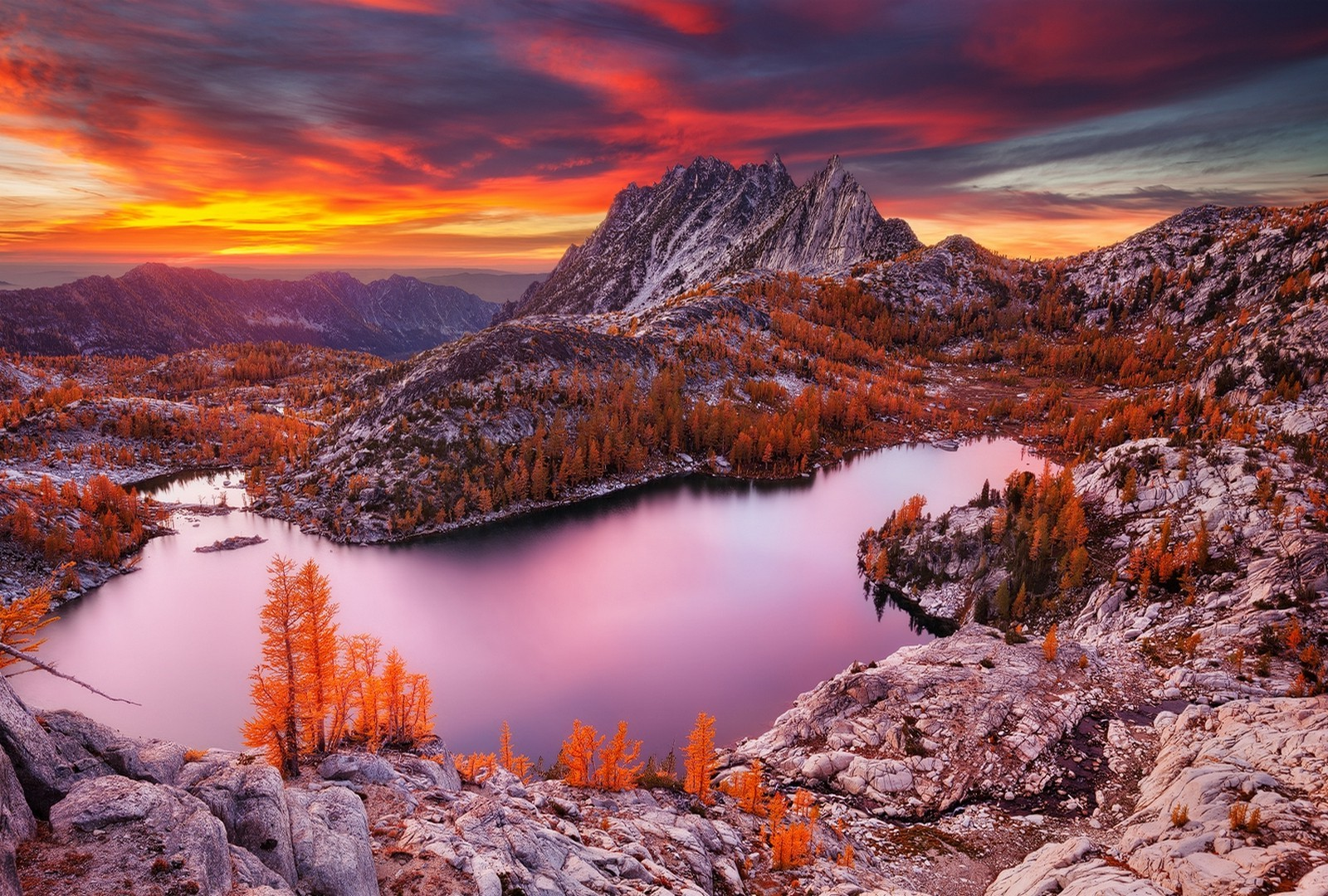Uhd Wallpapers Fall Nature Landscape Lake Mountain Sunset Fall Forest