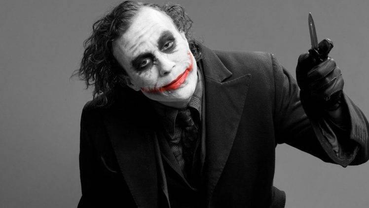 joker heath ledger dc