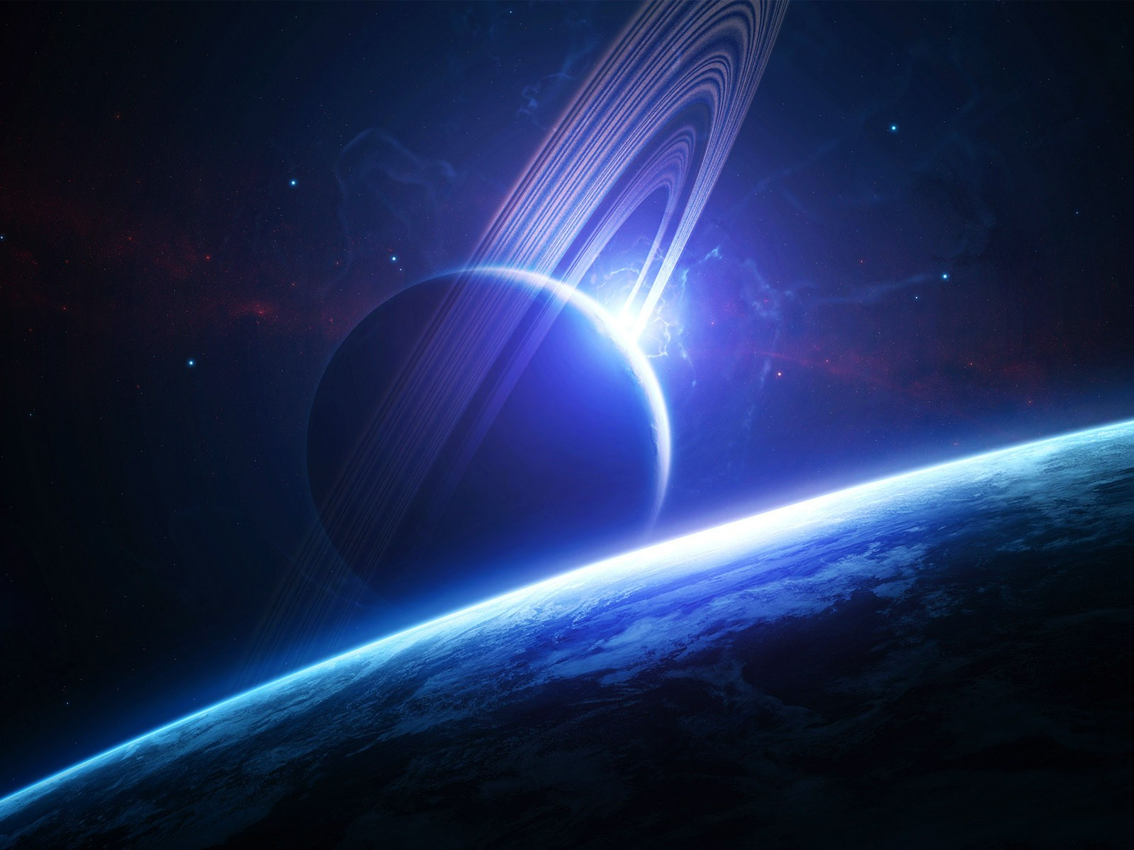 Space Journey 3d Wallpaper Spacescapes Space Art Space Planet Planetary Rings