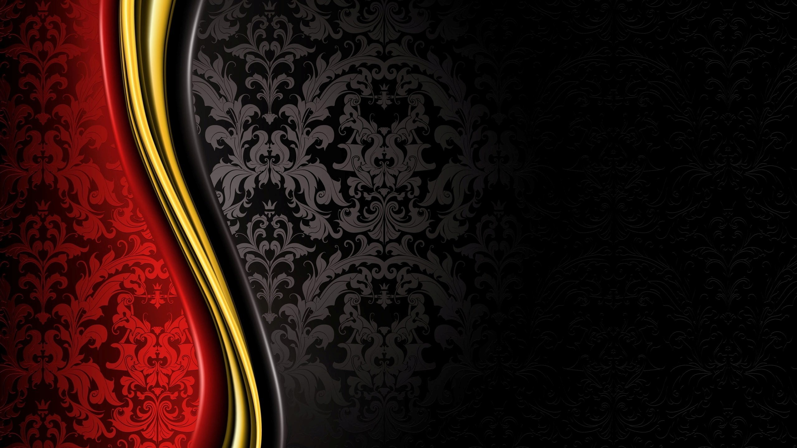 luxury, Royal, Grand, Black, Gold, Red, Abstract Wallpapers HD / Desktop and Mobile Backgrounds