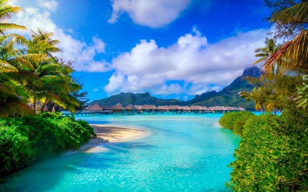 bora french polynesia nature
