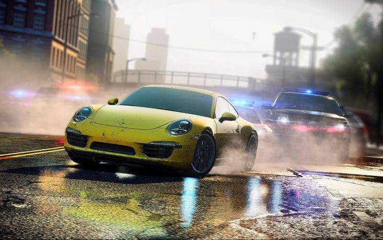 Super Car 5760x1080 Wallpaper Need For Speed Most Wanted 2012 Video Game Porsche 911
