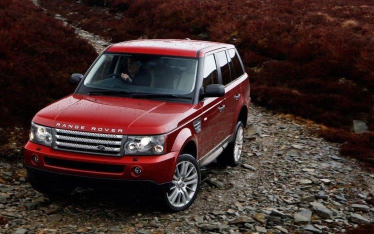 Download wallpapers range rover velar, suv, side. Range Rover Car Red Cars Wallpapers Hd Desktop And Mobile Backgrounds