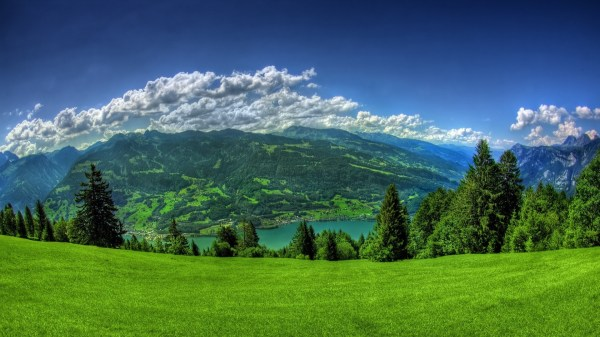 anime landscape nature wallpapers