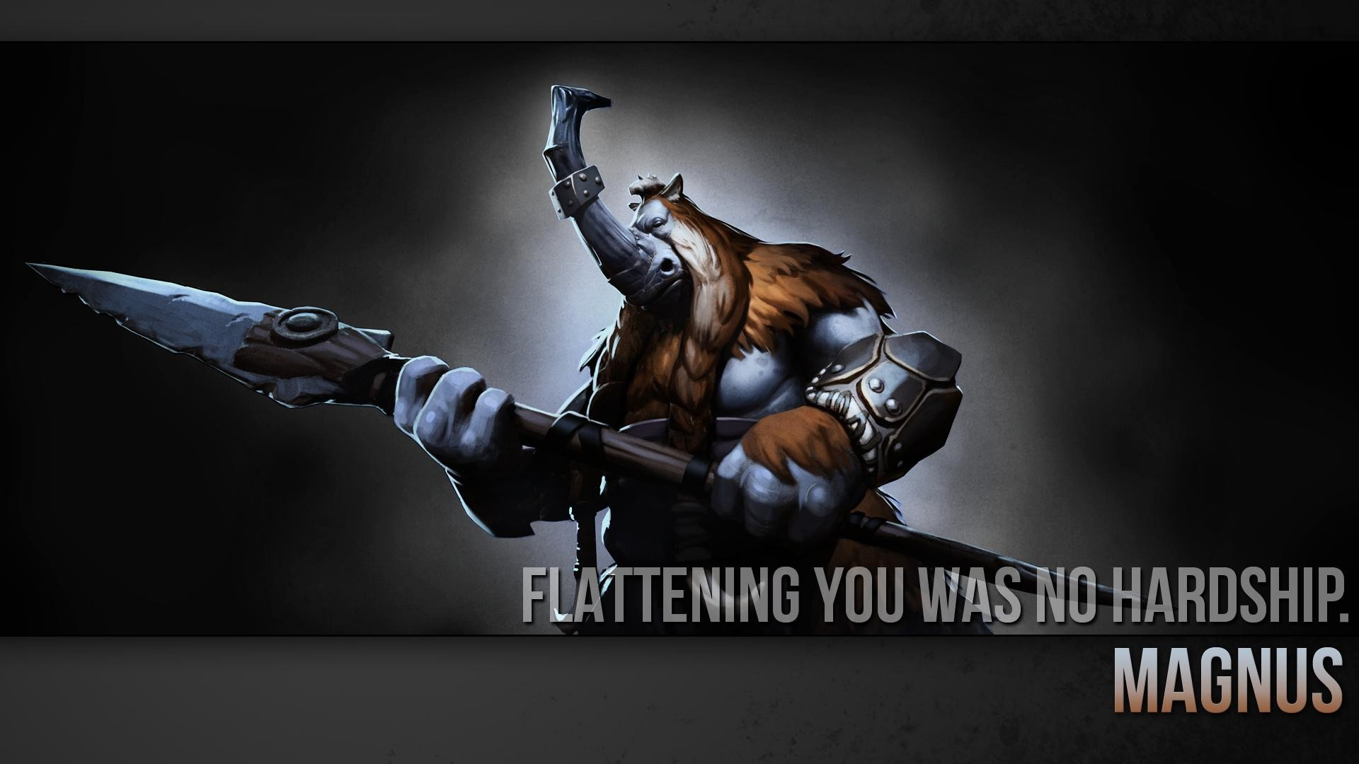 Dota Quotes Wallpaper Dota 2 Magnus Wallpapers Hd Desktop And Mobile Backgrounds