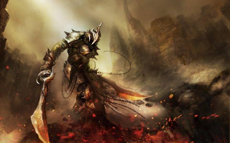 Evil Dark Spirit Girl Wallpaper Hd Artwork Sword Fantasy Art Digital Art Warrior