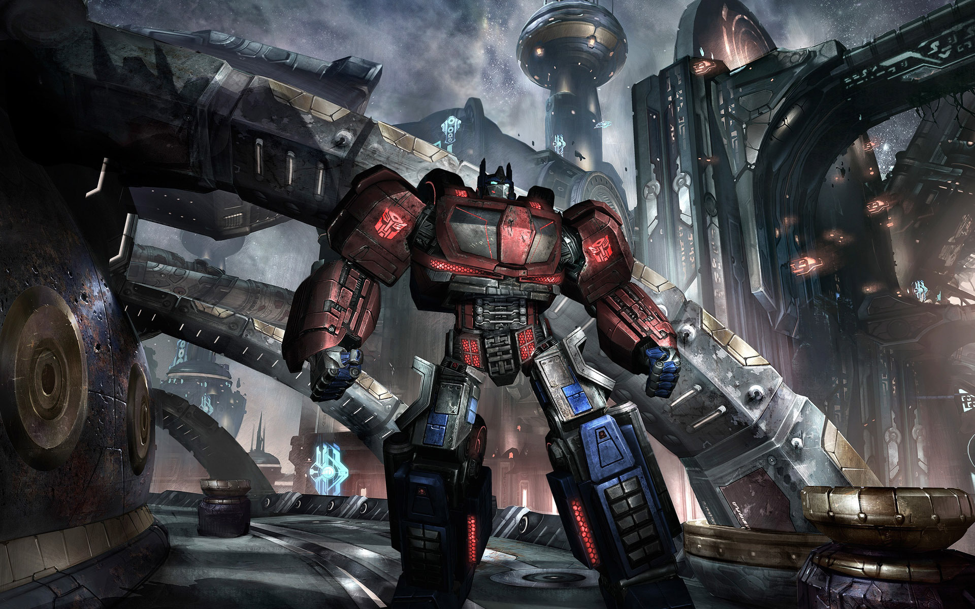 Transformers Fall Of Cybertron Wallpaper 1920x1080 Transformers Video Games Optimus Prime Autobots