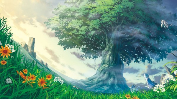 Artwork Fantasy Art Trees Nature Life Wallpapers Hd