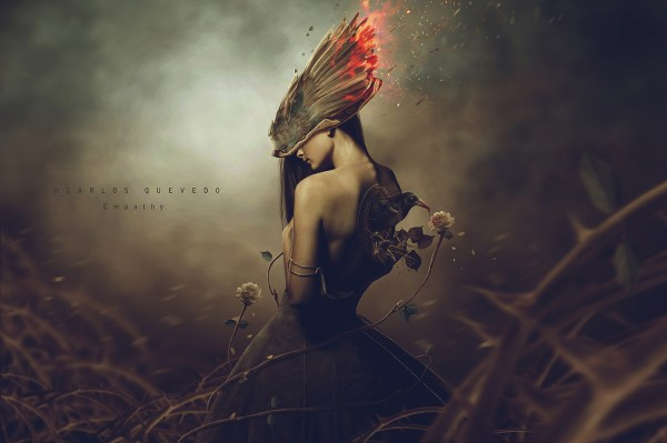 Beautiful Surreal Art Wallpaper Woman