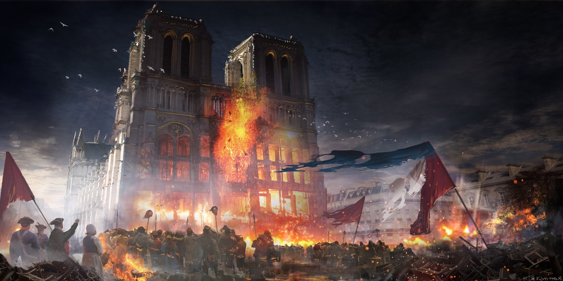 Assassins Creed Unity Hd Wallpaper Assassins Creed Unity Video Games Wallpapers Hd