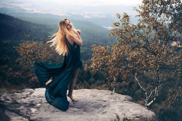 women outdoors trees nature
