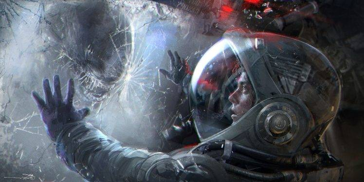 Gunslinger Girl 2 Desktop Wallpaper Futuristic Xenomorph Aliens Artwork Science Fiction