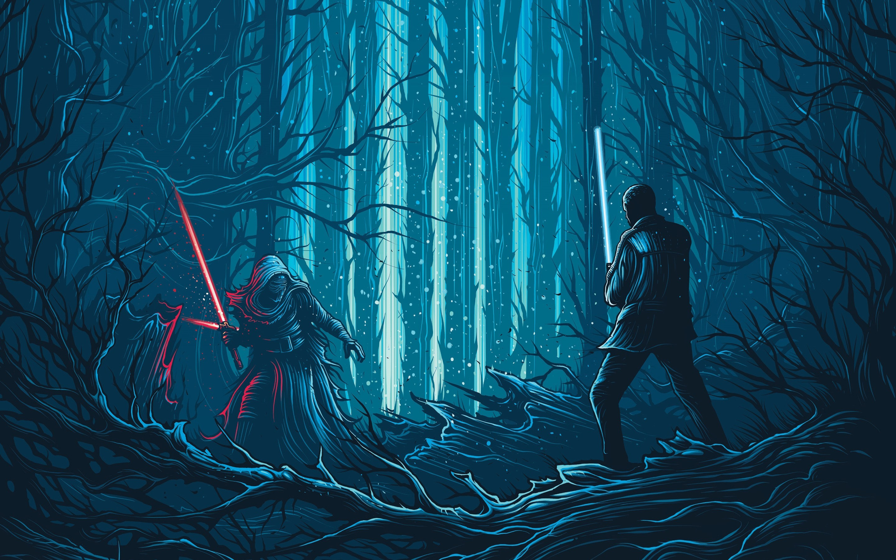 Gravity Falls Wallpaper Forest Kylo Ren Star Wars Star Wars The Force Awakens