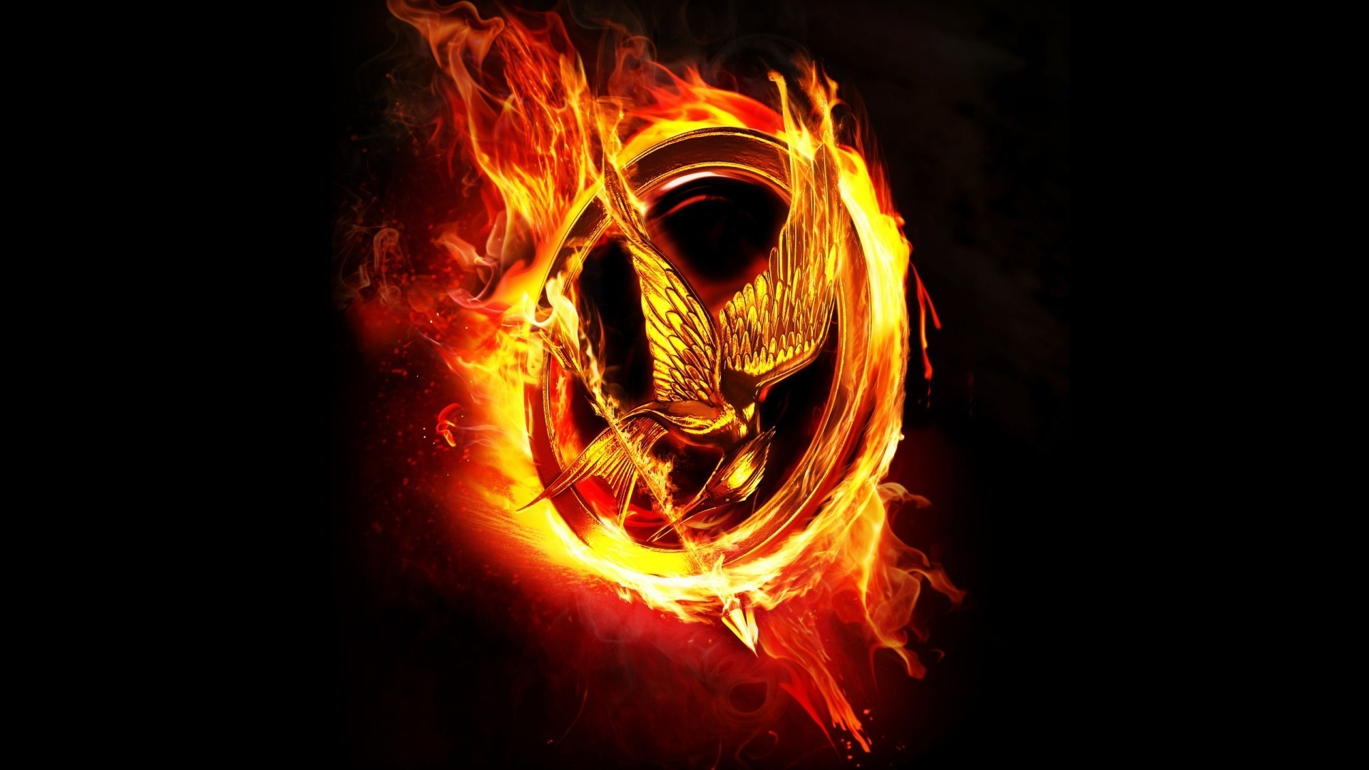 Cool 3d Fire Wallpaper The Hunger Games Movies Wallpapers Hd Desktop And