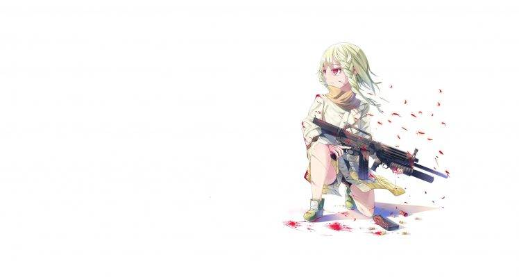 Cute Anime Girl Gun Wallpaper Anime Girls Anime Women With Guns Wallpapers Hd