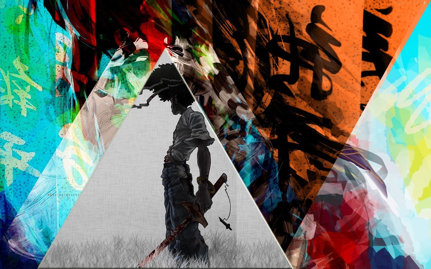Cute Baby Wallpaper Download Full Hd Afro Samurai Colorful Chinese Triangle Mixed Martial