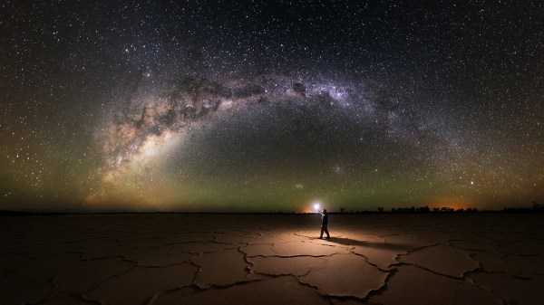 Starry Night Milky Way Galaxy Pictures