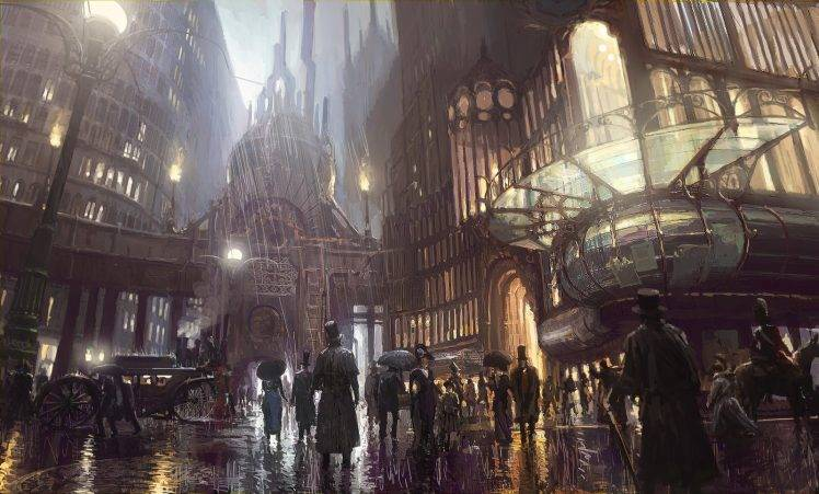 (Image taken from: http://wallup.net/steampunk-city-artwork-concept-art-fantasy-art/)