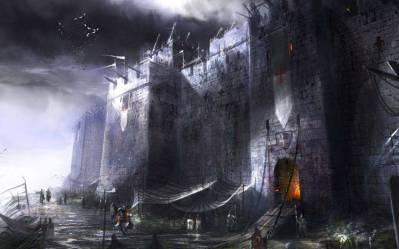 fantasy Art Digital Art Castle Medieval Wallpapers HD / Desktop and Mobile Backgrounds