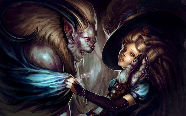 Beauty And The Beast Artwork Fantasy Art Wallpapers HD