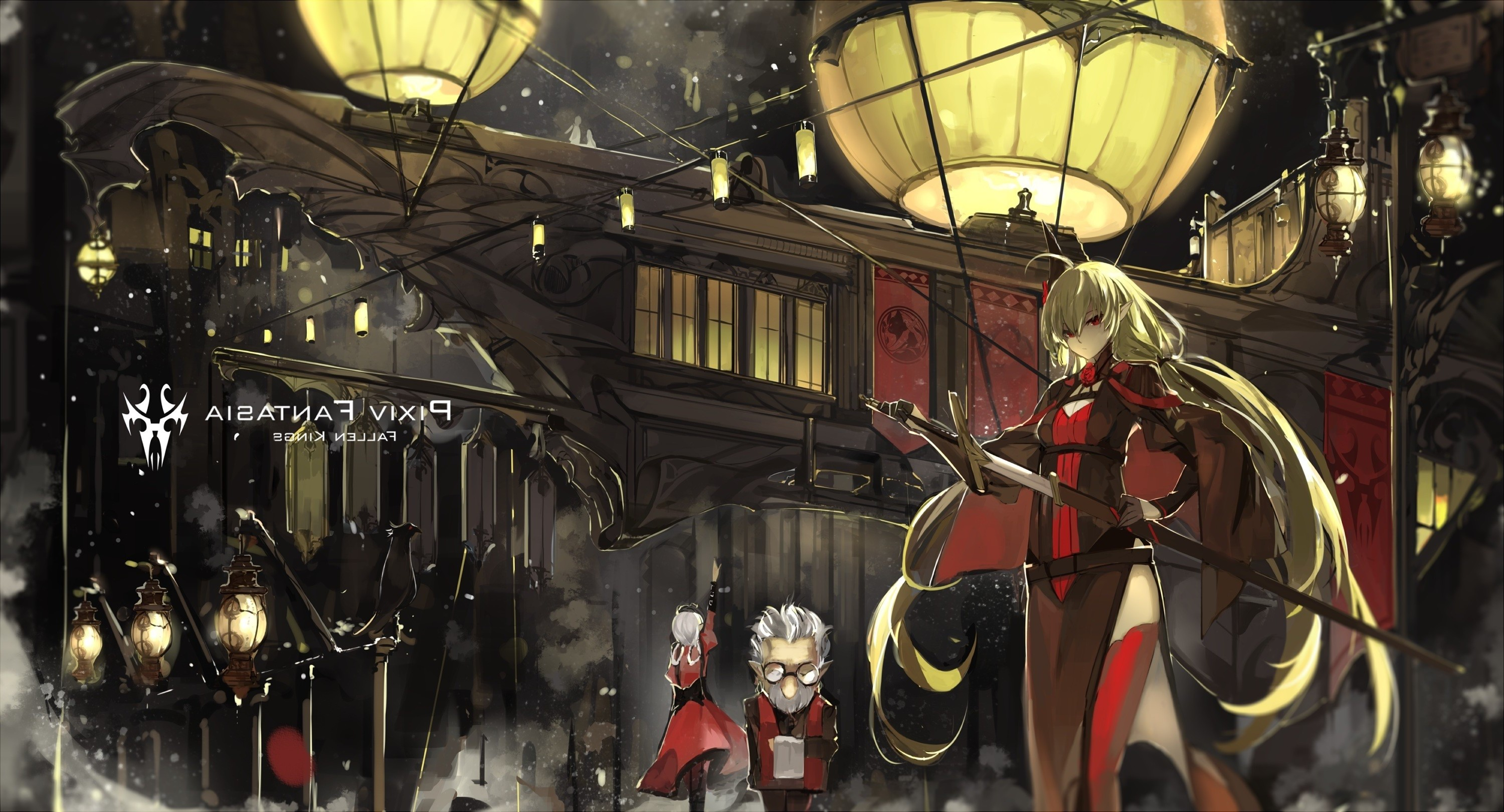 Cute Fairy Wallpapers For Mobile Anime Pixiv Fantasia Fallen Kings Original Characters