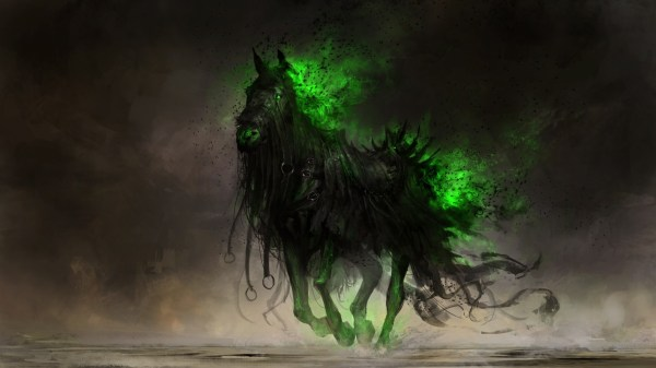 Digital Art Drawing Fantasy Horse Deviantart Apocalyptic Wallpapers Hd Desktop And