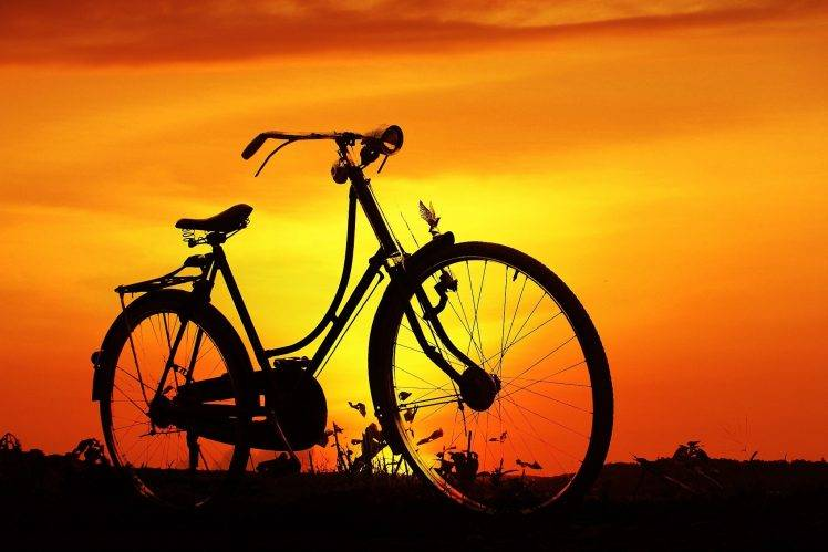 nature bicycle wallpapers hd
