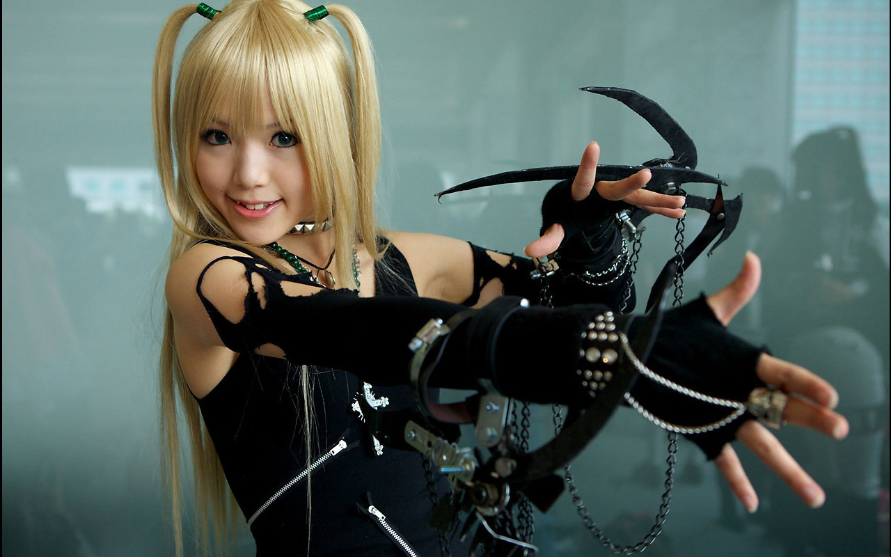 Death Girl Wallpaper Download Anime Death Note Cosplay Wallpapers Hd Desktop And