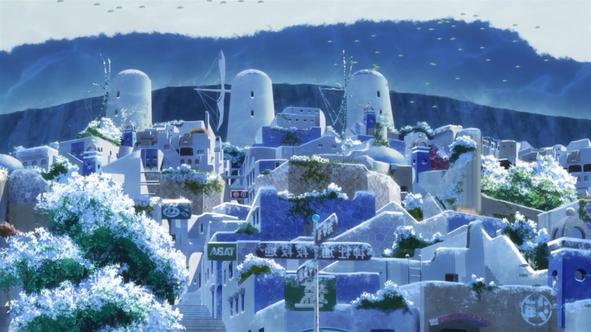 Funny Desktop Wallpaper Hd City Nagi No Asukara Wallpapers Hd Desktop And Mobile